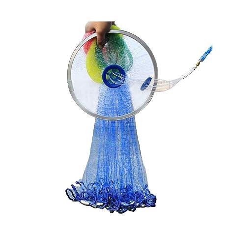 Amazon com : Fishing Cast Net, American Hand Throw Fish Nets