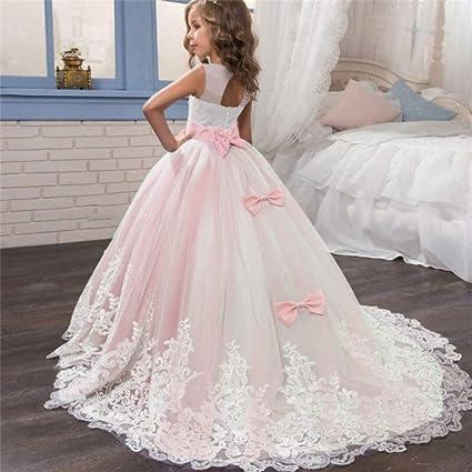 DAJUZI Elegante Vestido de Princesa navideña 6-14 años ...