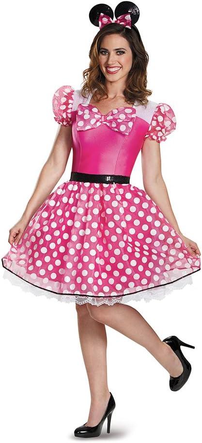 Disfraz de Minnie Mouse para Mujer: Amazon.es: Juguetes y juegos