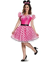 Disguise Women's Glam Minnie Costume