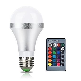 Kingnew 5w Rgb Led Lampen E27 Rgb Bulb Dimmbare Led Licht Lampe Mit