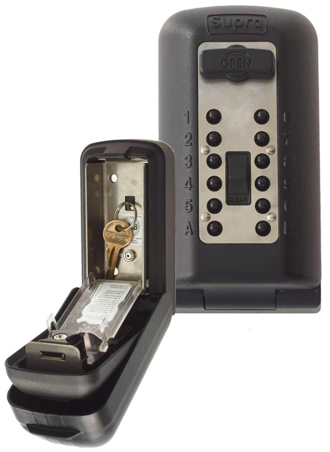 Kidde Supra - Caja guarda llaves de alta seguridad P500 con capacidad para 3/5 llaves 002045