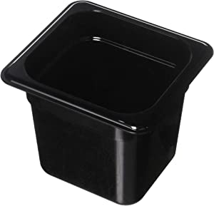 Cambro 66HP110 Black 1/6 Size 6