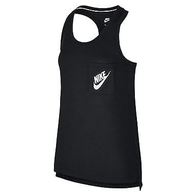 e53fb27da4cbe3 Image Unavailable. Image not available for. Colour  Nike Women s Nike Logo  One Pocket Tank Top ...