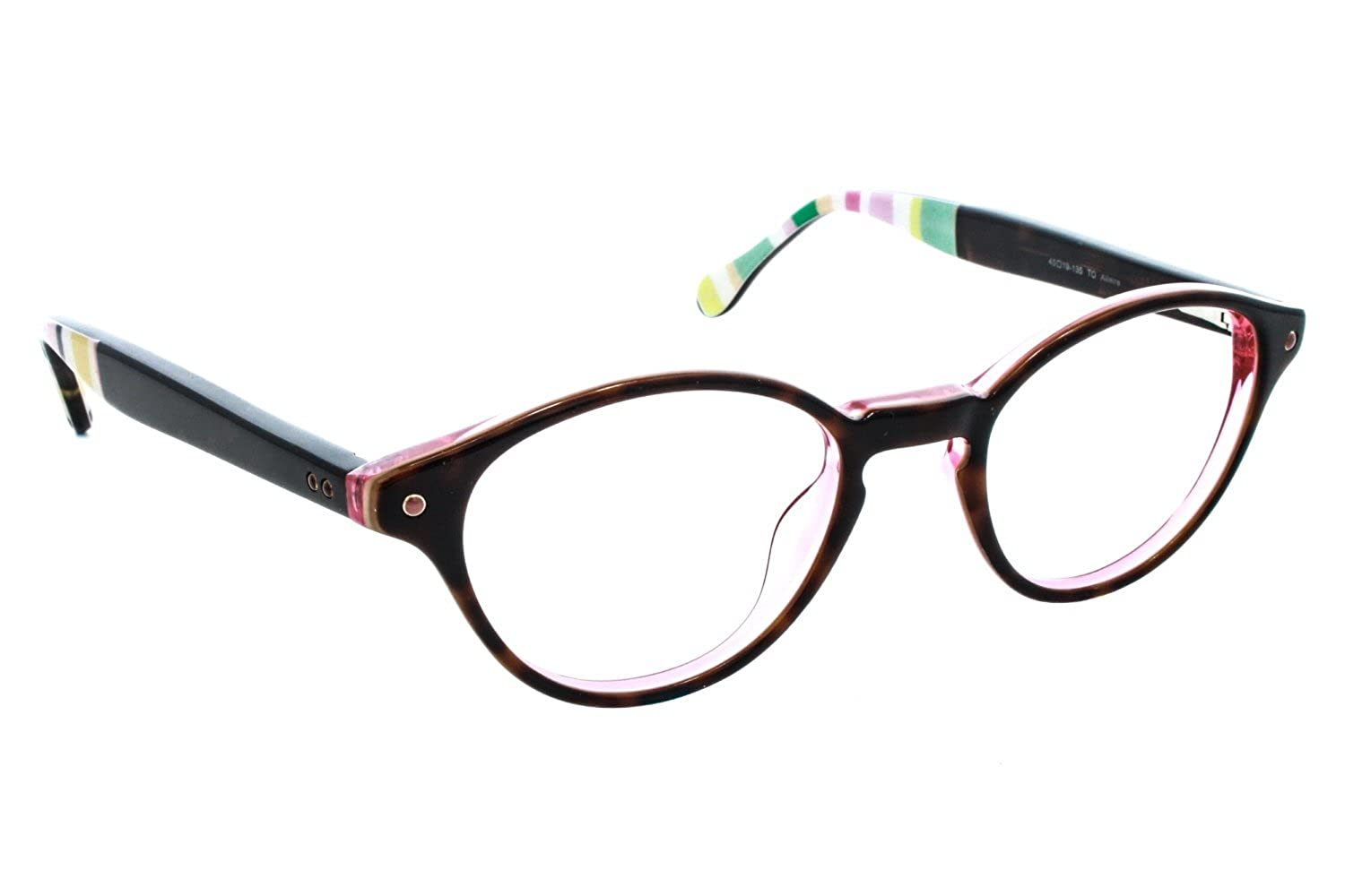 1b966534291 LILLY PULITZER Eyeglasses ALLAIRE Tortoise 45MM at Amazon Men s Clothing  store