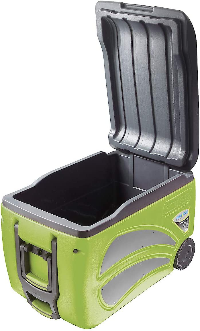 size 59 x 44 x 38 cm Pinnacle 45 L Roller Cool Box Cooler on Wheels