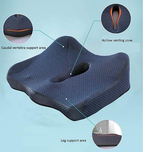 XIUHAO Donut Seat Cushion Almohada para el Tratamiento del ...