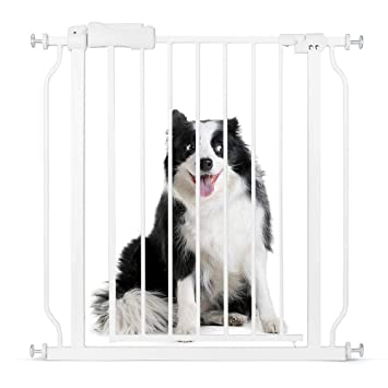Amazon Com Cyttengo Multi Use Metal Baby Gate Pet Gate 22 Wide