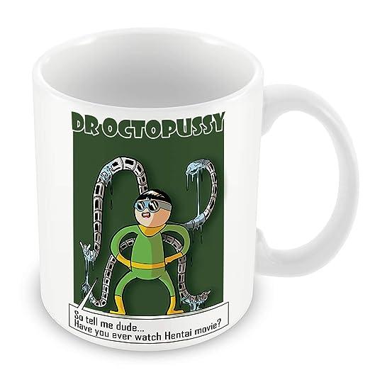 Taza de Cerámica Juego De Geek Dr. Octopussy Superhéroe ...