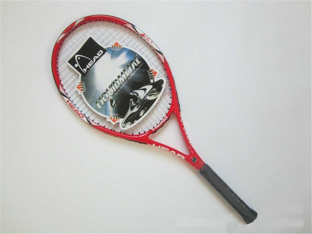Amazon.com : Tennis Racket Raquete De Tennis Carbon Fiber Top Material Tennis String Raquetas De Tenis Black : Sports & Outdoors