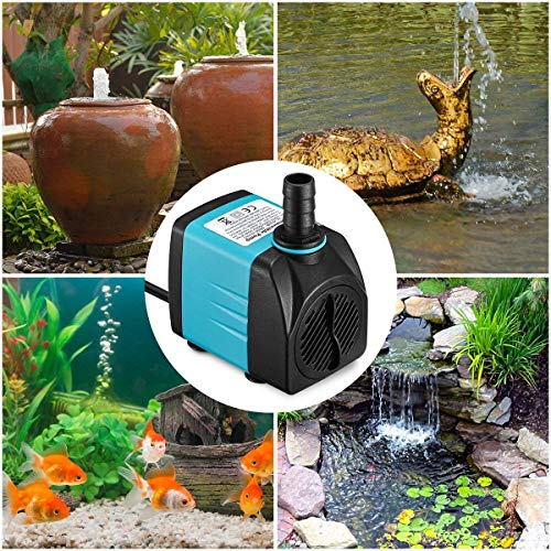 4 Homasy+Water+Pump+Fish+Fountain