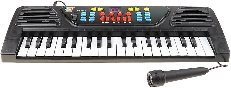 61 Teclas Carga USB Electrónica Órgano Teclado Piano Mini ...