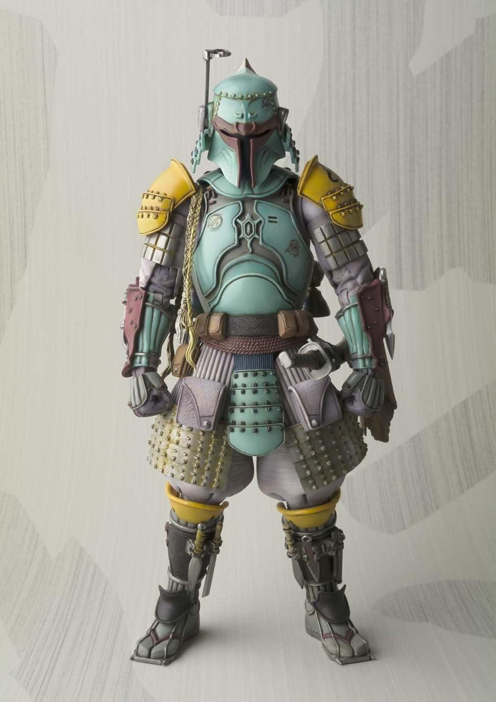 Star Wars Movie Realization Ronin Samurai Boba Fett PVC Action Figure New In Box