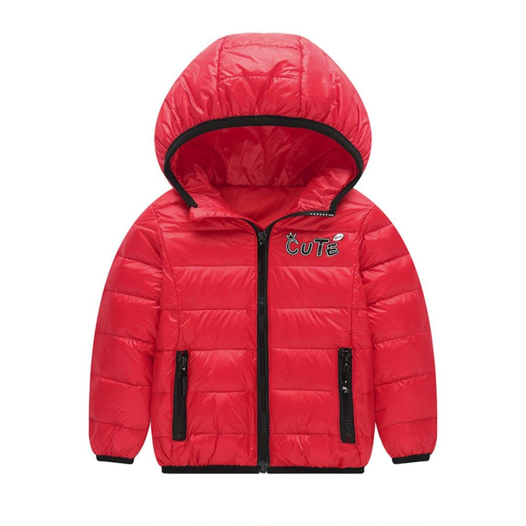 Sunyoyo Infant Baby Girls Coat Autumn Winter Down Jacket Coat Boys Girls Warm Ski Clothes Hot