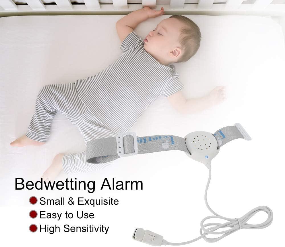 Alarme d/énur/ésie nocturne haute sensibilit/é capteur dalarme d/énur/ésie nocturne moniteur pour b/éb/é avec brassard /élastique r/églable pour les enfants /âg/és