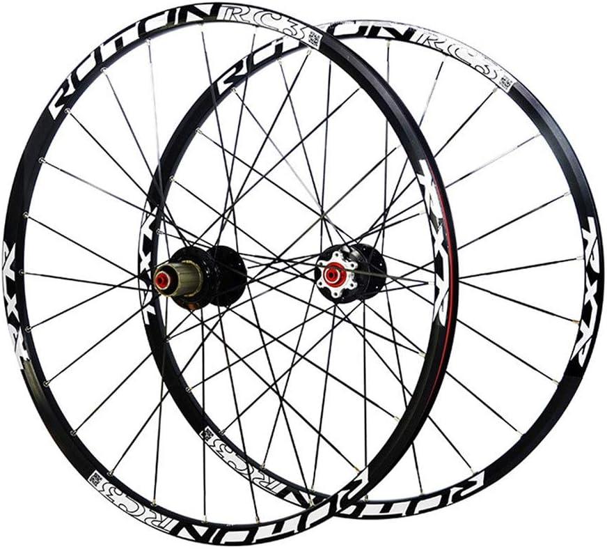 LBBL Ruedas Bicicleta, 26 Pulgadas Wheels Freno Disco 9-11 Velocidad Rueda Aro Aluminio Liberación Rápida Ligera Y Resistente A La Torsión (Size : 29inch)