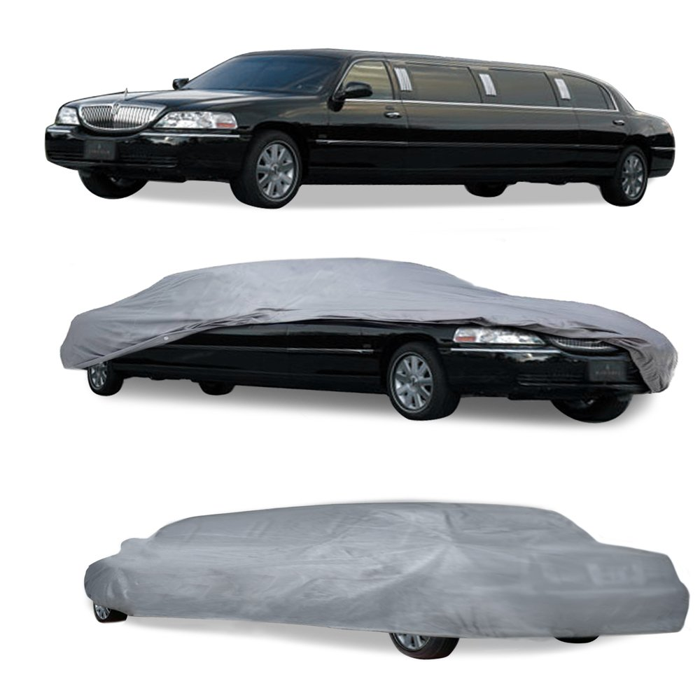OxGord 940-LIMO-LC-27 Limousine Limo Cover to Fit Limos up to 27 104 to 116 Stretch All Weather Protection