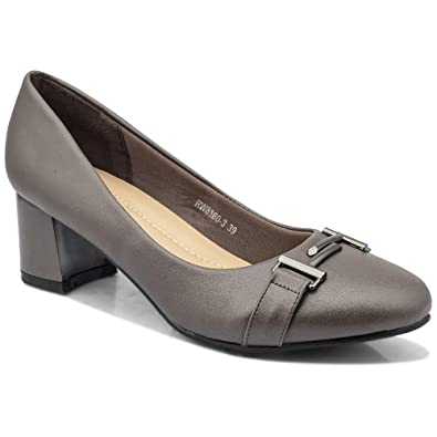 080f1378afa2b tresmode Women's Grey Pumps-4 UK/Inidia (37 EU) (183-MARGE): Buy Online at  Low Prices in India - Amazon.in