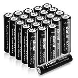 Best Aaa Rechargeable Batteries - Bonai 24 Packs AAA Rechargeable Batteries 800mAh 1.2V Review