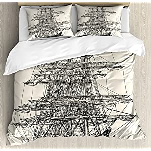 61F1N0gGhfL._SS300_ 100+ Nautical Duvet Covers and Nautical Coverlets For 2020