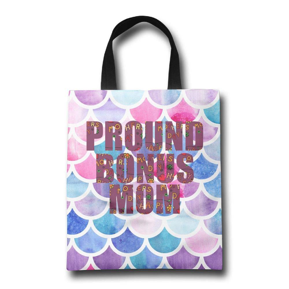 1着でも送料無料 Lqzdqa Proud Bonus Mom Fashion 再利用可能なショッピングバッグ Fashion Lqzdqa エコフレンドリー 耐久性 Bonus B07GSMF8X3, カミナカチョウ:ab0d9bad --- by.specpricep.ru