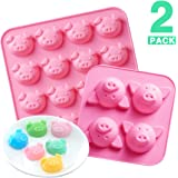 Amazon Com Siliconezone Piggy Collection Non Stick