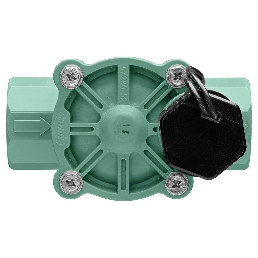 Orbit 5 Pack 1 Inch Female Threaded Automatic Inline Irrigation Sprinkler Valve by Orbit