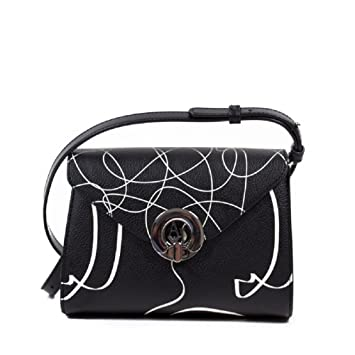 Armani Jeans hand bag black  Amazon.co.uk  Luggage 04581a87185ff
