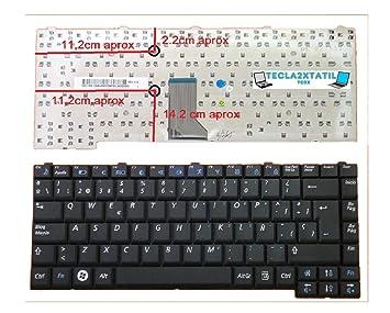 Teclado para PORTATIL Samsung R60 EN ESPAÑOL Nuevo Negro: Amazon.es: Electrónica