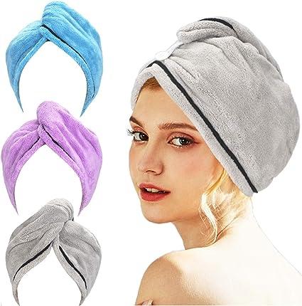 RAPID DRYING HAIR TOWEL UK