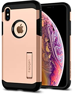 a11cf62454 Amazon | 【Spigen】 スマホケース iPhone XS ケース/iPhone X ケース ...
