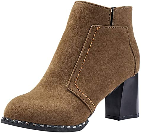Chaussures Bottines Femme, Xinantime Femmes hiver Chaud