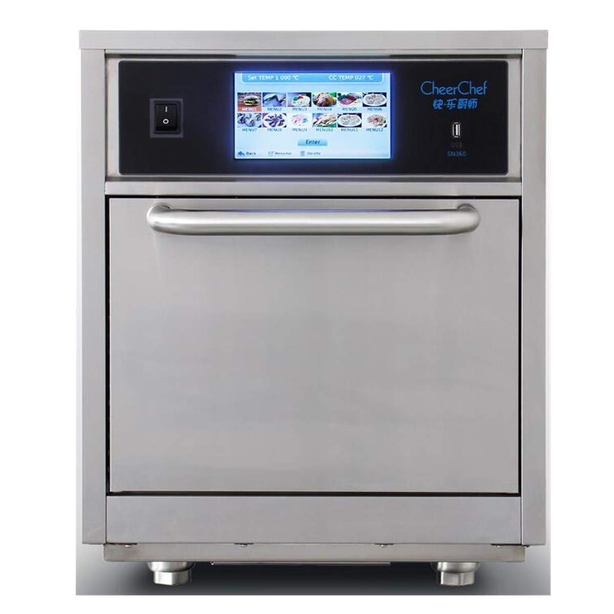 Cheerchef High-Power High-Speed Accelerated Cooking Countertop Oven