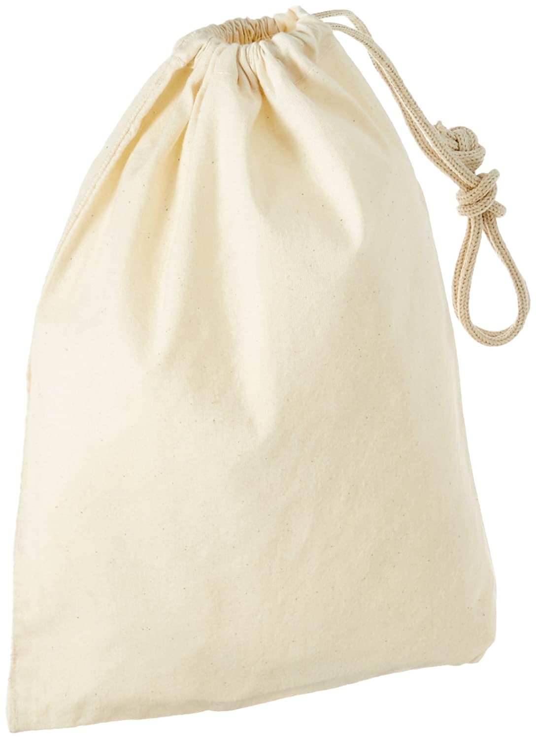 8 by 12 5 Pack 8 by 12 MuslimBag8x12/_Pack5 LA Linen 100/% Cotton Durable Drawstring Muslin Produce Storage Bags