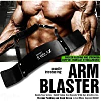 E RELAX Arm Blaster-Heavy Duty Thick Gauge Steel-Bicep Blaster for Biceps and Triceps Workout Unisex (Imported)