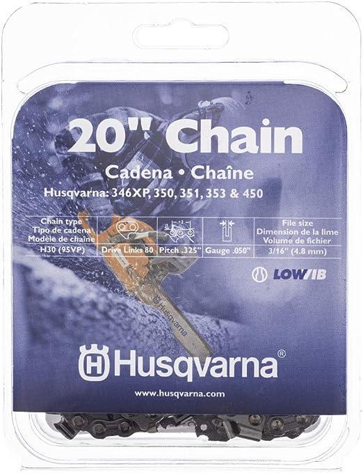 Bar Spartacus Replacement Chainsaw Chain .325 x 64 Drive Links Fits Husqvarna 455 Rancher 460 460e 137 137 E Series 40CM 16