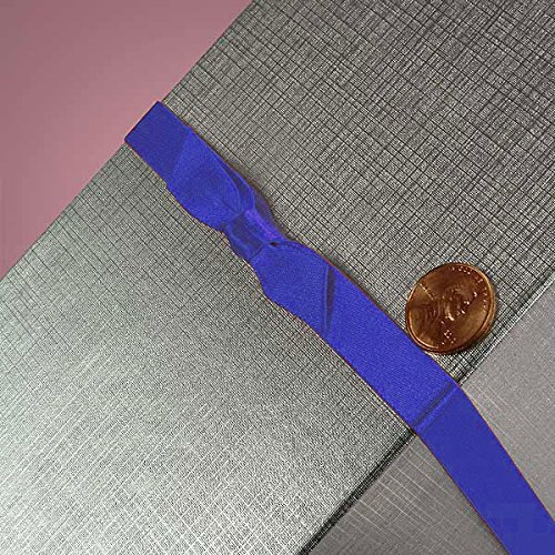 7/16 X 16 ROYAL SATIN BOW STRETCH LOOPS by Paper Mart