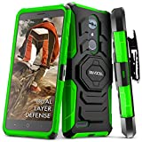 zte blade 3 case - ZTE MAX XL/ZTE Blade Max 3 / ZTE Max Blue Case, Evocel [New Generation Series] Belt Clip Holster, Kickstand, Dual Layer for ZTE N9560 / ZTE Z986 / ZTE N986, Yellow