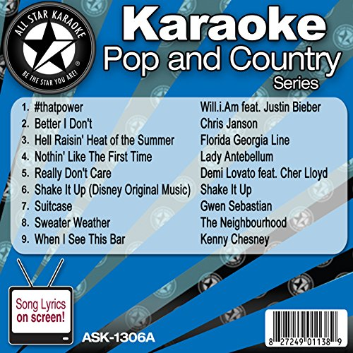 All Star Karaoke Pop and Country Series - Chris And Gwen