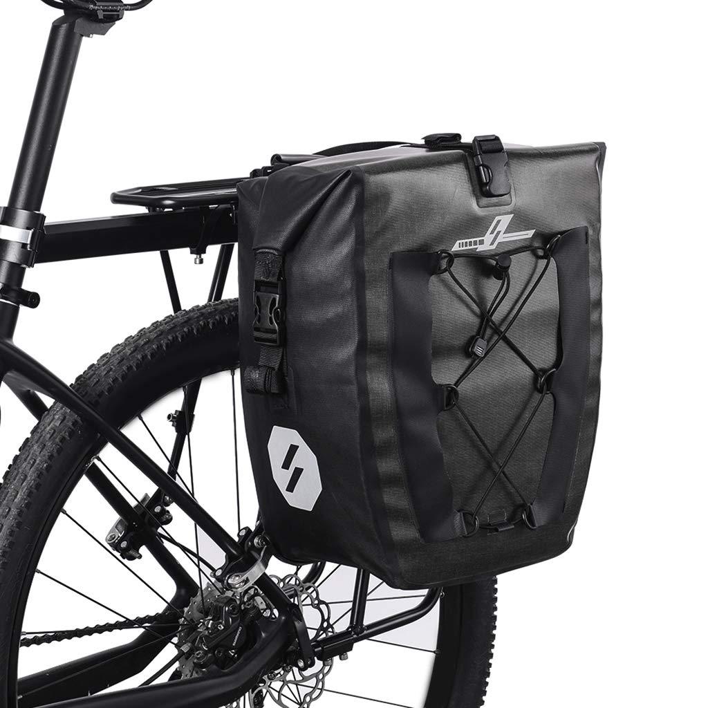 SM SunniMix Bolsas Traseras para Bicicletas Alforjas Ciclismo ...
