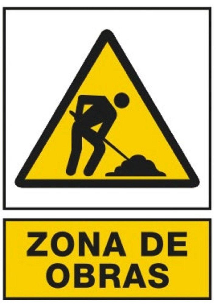 NUEVA SEÑAL SEÑALIZACION PREVENCION CARTEL AVISO ZONA DE ...