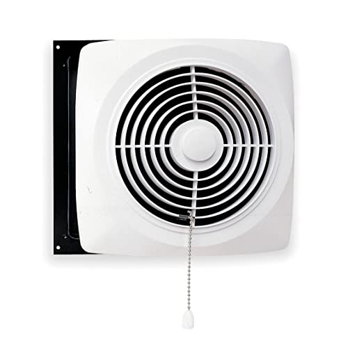 kitchen ventilation fan commercial broan 506 chain operated utility fan 10inch 470 cfm 80 sones kitchen vent fan amazoncom