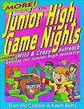 More Junior High Game Nights, Keith Betts and Dan McCollam, 0310541018
