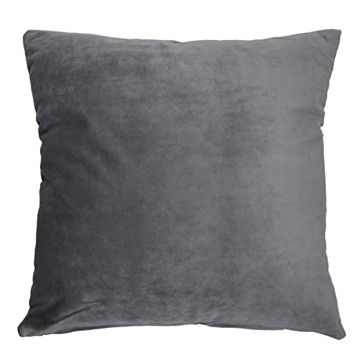 ZXKEE Cushion Covers Solid Color Velvet Home Decorative Throw