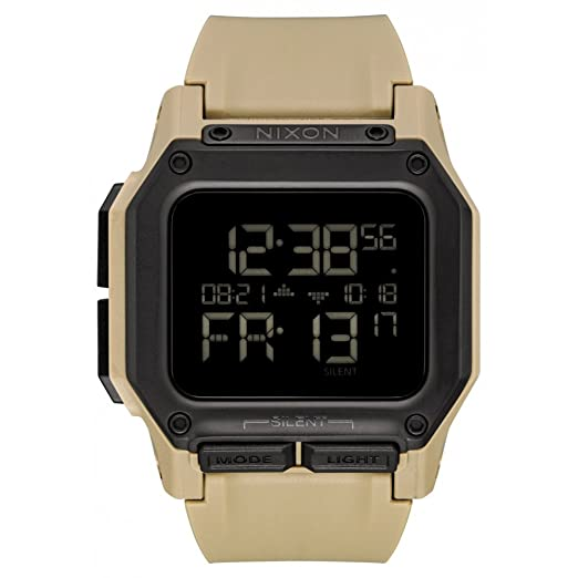 Reloj NIXON Regulus All Black A11802711 Hombre Crema: Nixon: Amazon.es: Relojes