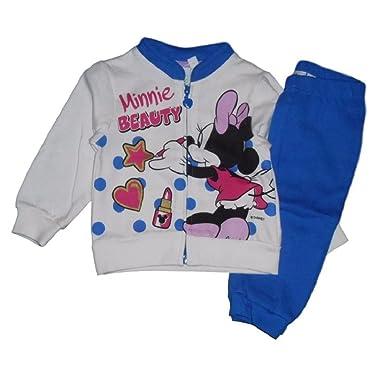 Disney Minnie - Chándal para bebé con Sudadera y Pantalones Azul ...