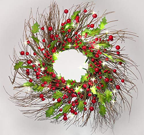 Outdoor Lighted Advent Wreath in US - 7