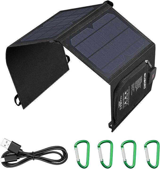 6 opinioni per SUAOKI 21W Caricabatterie Solare Portatile Pannello Solare Pieghevole con