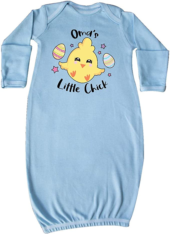 inktastic Happy Easter Omas Little Chick Baby T-Shirt