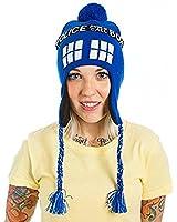 Dr. Who Tardis Call Box Adult Laplander Hat